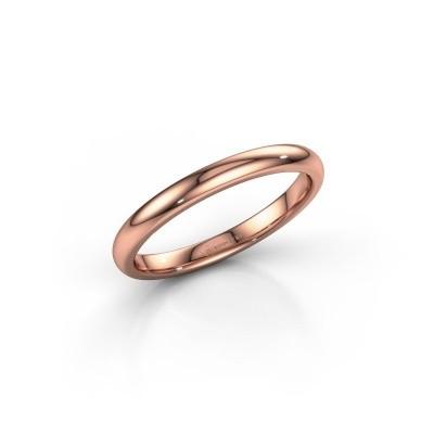 Stackable ring SR30B6 375 rose gold