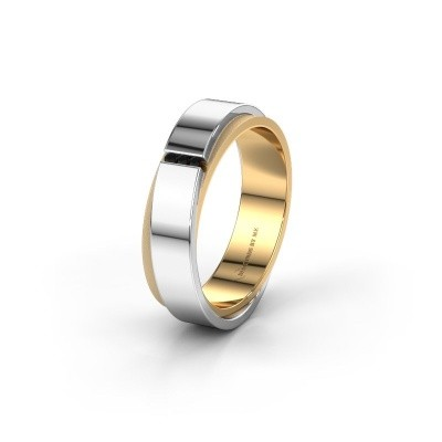 Ehering WH6012LX6A 585 Gold Schwarz Diamant ±6x1.7 mm