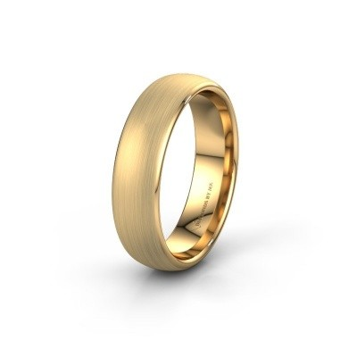 Trouwring WH0100M36BM 375 goud ±6x2 mm
