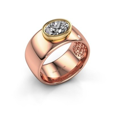 Ring Anouschka 585 rose gold lab-grown diamond 1.15 crt