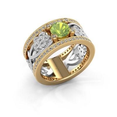 Bild von Ring Severine 585 Gold Peridot 6 mm