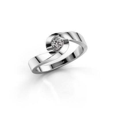Foto van Verlovingsring Sheryl 925 zilver lab-grown diamant 0.20 crt