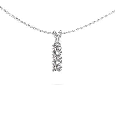 Foto van Hanger Fenna 585 witgoud diamant 0.30 crt