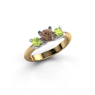 Ring Mirthe 585 Gold Braun Diamant 0.50 crt