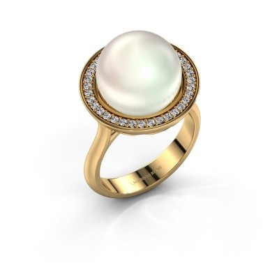 Picture of Ring Grisel 585 gold white pearl 12 mm