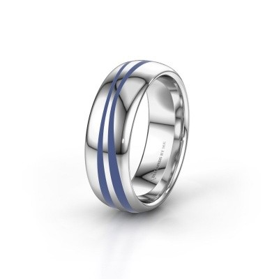 Weddings ring WH2226M36BP 950 platinum ±6x2 mm