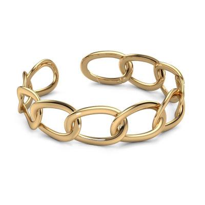 Foto van Schakel armband Marit 20mm 585 goud