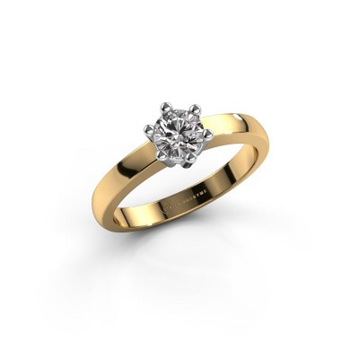 Verlovingsring Luna 1 585 goud diamant 0.30 crt