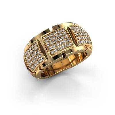 Ring Laura 375 goud lab-grown diamant 0.75 crt