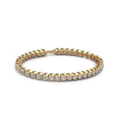 Foto van Tennisarmband Mellisa 375 goud diamant 7.200 crt