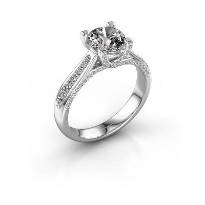 Verlovingsring Mia 3 950 platina diamant 1.412 crt