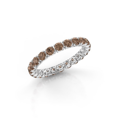 Picture of Ring Vivienne 2.7 950 platinum brown diamond 1.68 crt