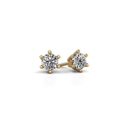 Foto van Oorbellen Fay 375 goud diamant 0.40 crt