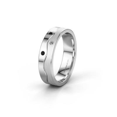 Ehering WH0701L15APM 950 Platin Schwarz Diamant ±5x1.7 mm