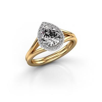 Bild von Verlobungsring Elenore 585 Gold Lab-grown Diamant 1.097 crt