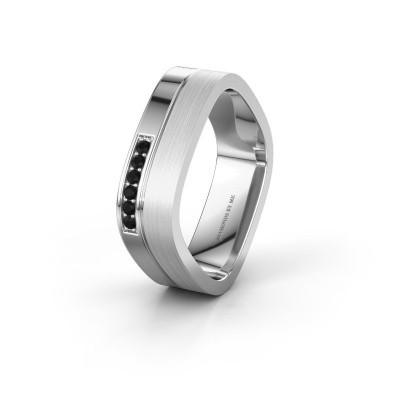 Ehering WH6030L16A 950 Platin Schwarz Diamant ±6x1.7 mm