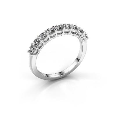 Foto van Belofte ring Michelle 9 950 platina zirkonia 2.7 mm