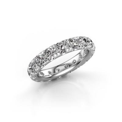 Foto van Aanschuifring Jackie 3.7 585 witgoud lab-grown diamant 3.40 crt