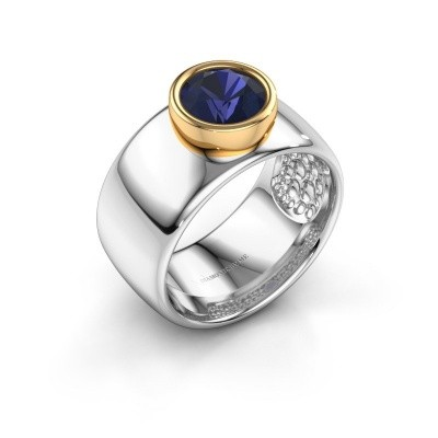 Ring Klarinda 585 white gold sapphire 7 mm