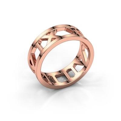 Foto van Ring Lela 375 rosé goud