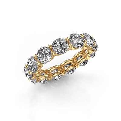 Picture of Ring Kirsten 5.0 375 gold zirconia 5 mm