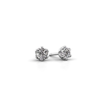 Picture of Stud earrings Fran 925 silver diamond 0.25 crt
