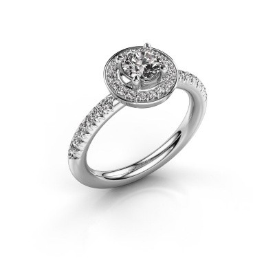 Foto van Ring Christine 925 zilver diamant 0.845 crt