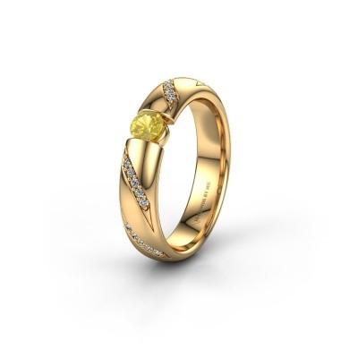 Ehering WH2102L34A 375 Gold Gelb Saphir ±5x1.7 mm