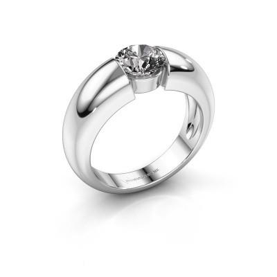 Foto van Verlovingsring Amelia 585 witgoud diamant 1.00 crt