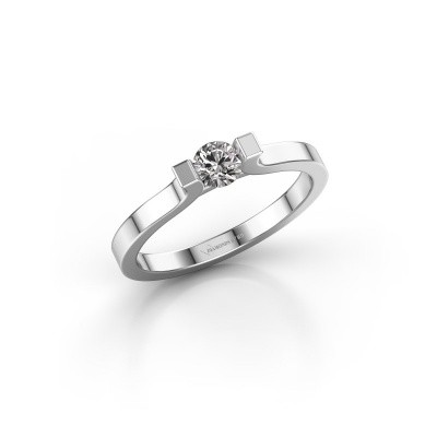 Picture of Engagement ring Jodee 585 white gold zirconia 5 mm