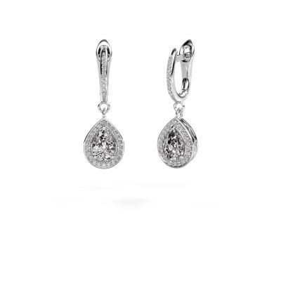 Oorhangers Ginger 2 950 platina diamant 1.455 crt