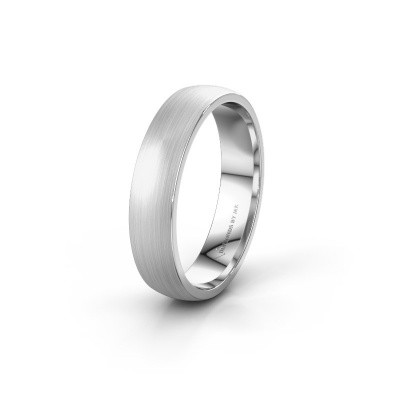 Picture of Wedding ring WH0100M25AM 585 white gold ±0.20x0.07 in
