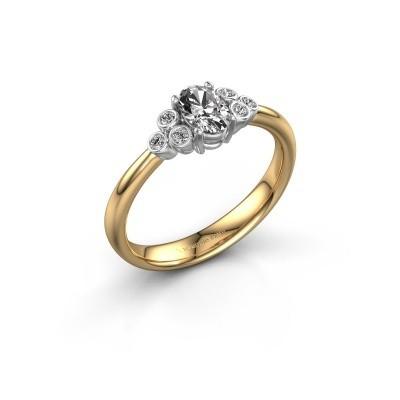 Foto van Verlovingsring Lucy 1 585 goud lab-grown diamant 0.572 crt
