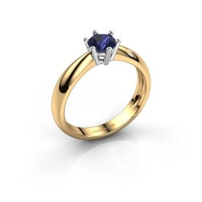 Verlovingsring Fay 585 goud saffier 5 mm