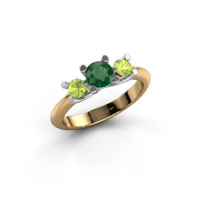 Ring Mirthe 585 Gold Smaragd 5 mm