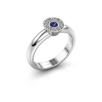 Ring Fiene 585 white gold sapphire 2.8 mm
