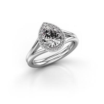 Bild von Verlobungsring Elenore 925 Silber Diamant 1.097 crt
