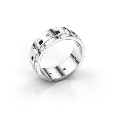 Foto van Heren ring Ricardo 585 witgoud zwarte diamant 0.63 crt