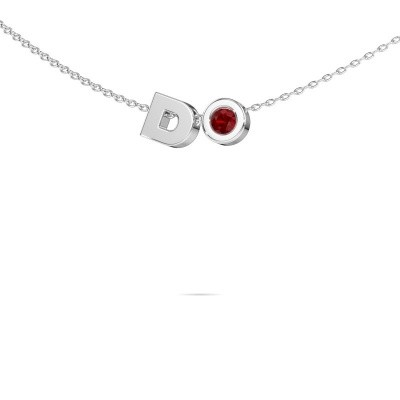 Picture of Initial pendant Initial 030 585 white gold