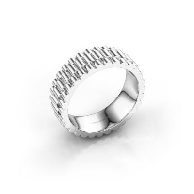 Foto van Rolex stijl ring Zenn 585 witgoud