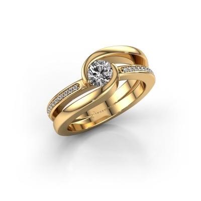 Bild von Ring Xenia 585 Gold Diamant 0.60 crt