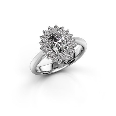 Verlovingsring Alina 1 925 zilver lab-grown diamant 0.80 crt