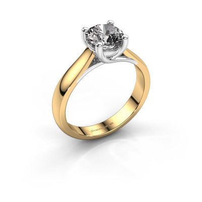 Verlobungsring Mia 1 585 Gold Diamant 1.00 crt