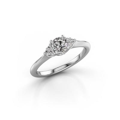 Bild von Verlobungsring Felipa RND 585 Weißgold Lab-grown Diamant 0.621 crt
