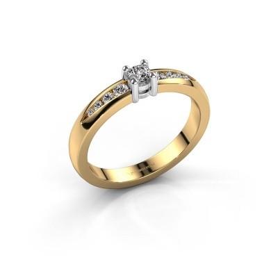 Foto van Verlovingsring Zohra 585 goud lab-grown diamant 0.237 crt
