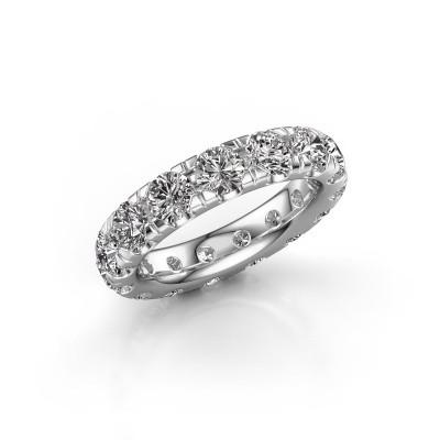 Foto van Aanschuifring Jackie 4.2 585 witgoud diamant 4.50 crt