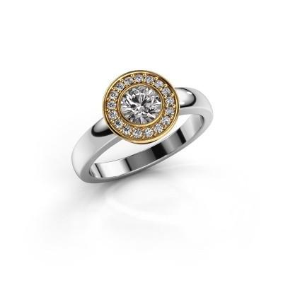Ring Adriana 1 585 Weißgold Diamant 0.62 crt