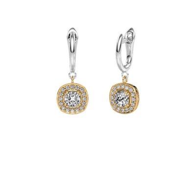 Oorhangers Marlotte 1 585 goud lab-grown diamant 0.50 crt