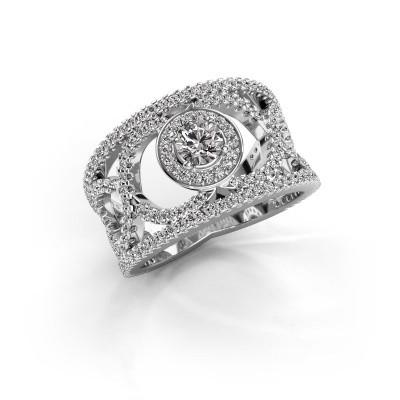 Bild von Ring Regina 950 Platin Diamant 1.25 crt