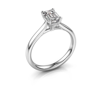 Foto van Verlovingsring Mignon eme 1 585 witgoud diamant 0.90 crt